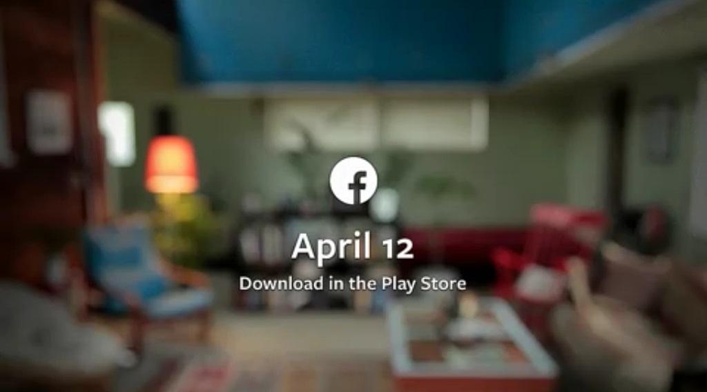 Facebook home april 12