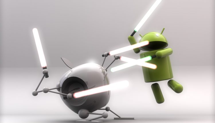 Apple VS Andorid iOS iPad iPod Touch iPhone los mejores juegos del mes