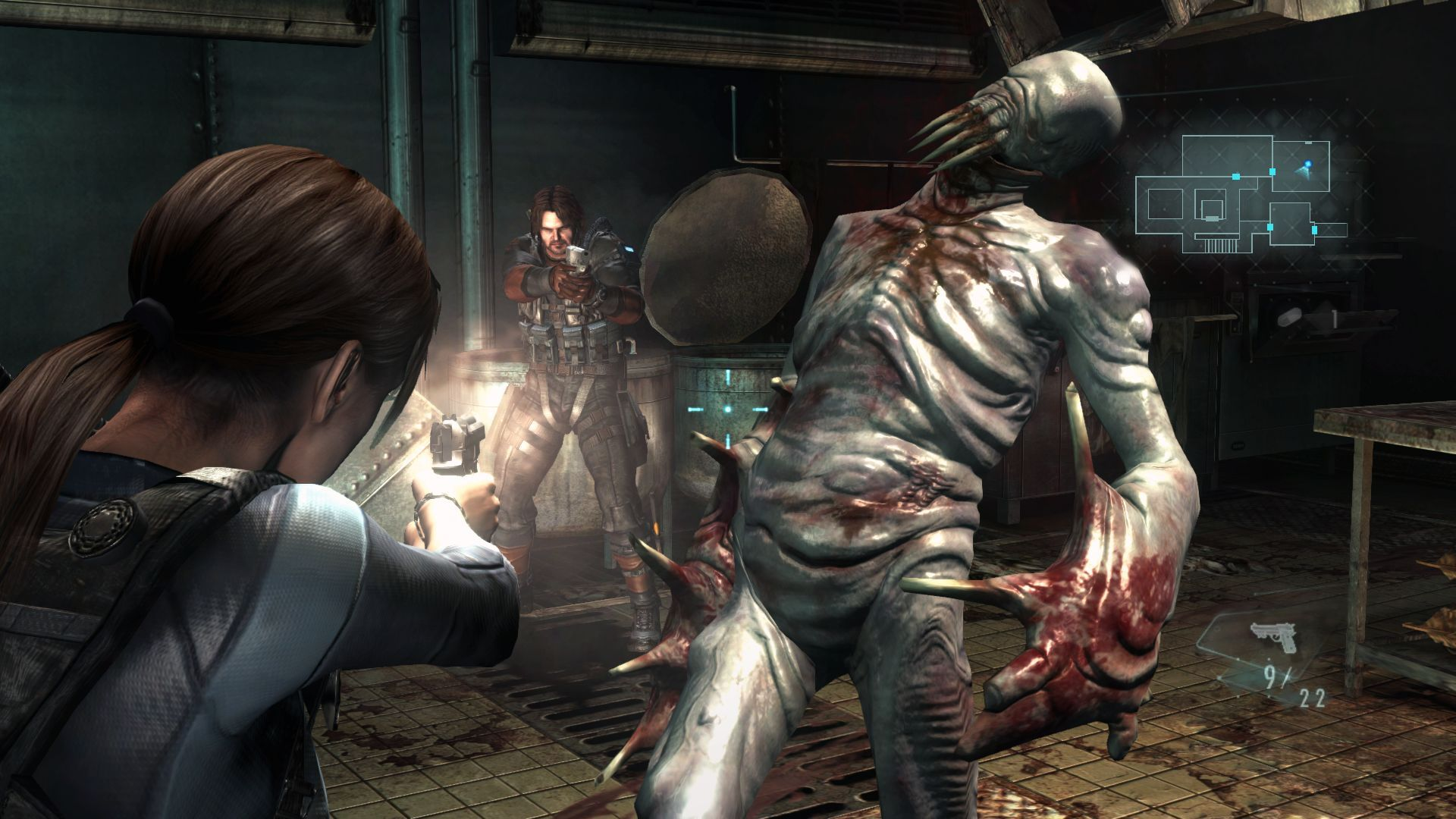 Resident Evil Revelations boss
