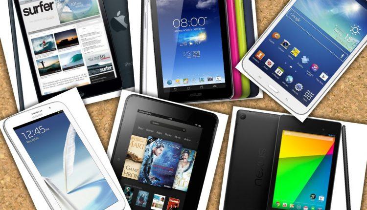 Google Nexus 7 VS iPad Mini VS Galaxy Note 8 VS Galaxy Tab 3 VS ASUS MeMo Pad HD VS Kindle Fire HD Cuál es mejor  Guerra de Tablets