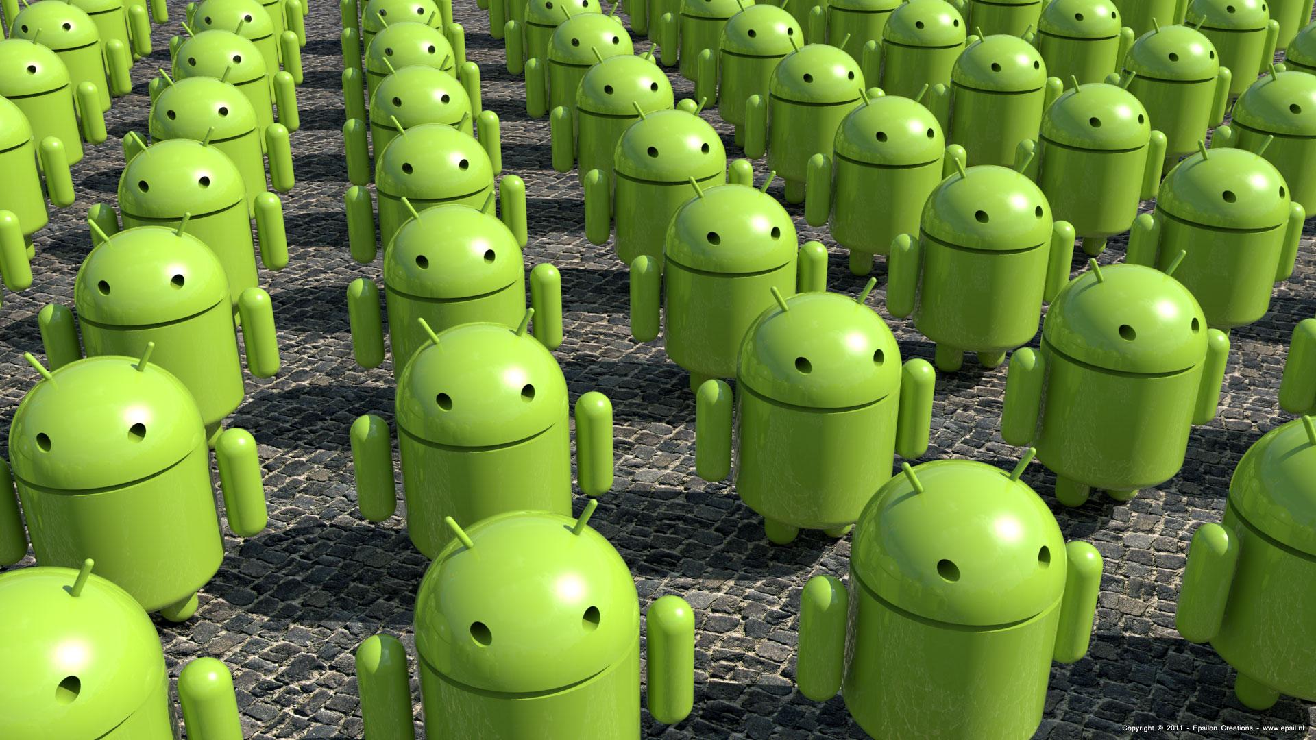 variedad de Android