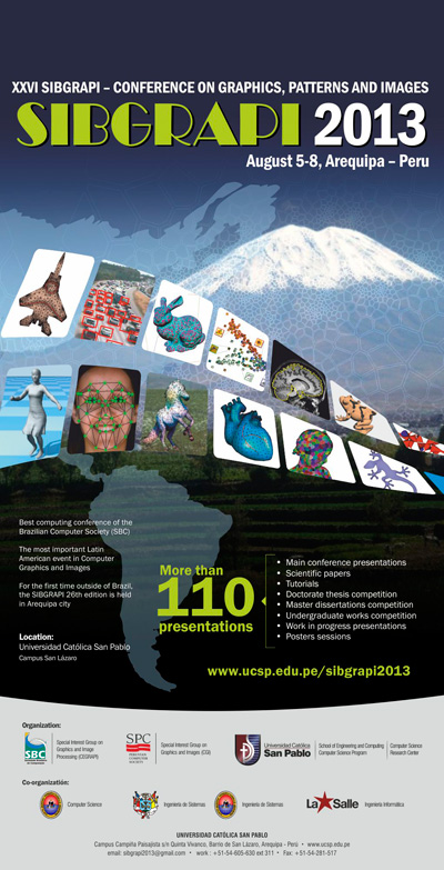 Afiche SIBGRAPI 2013