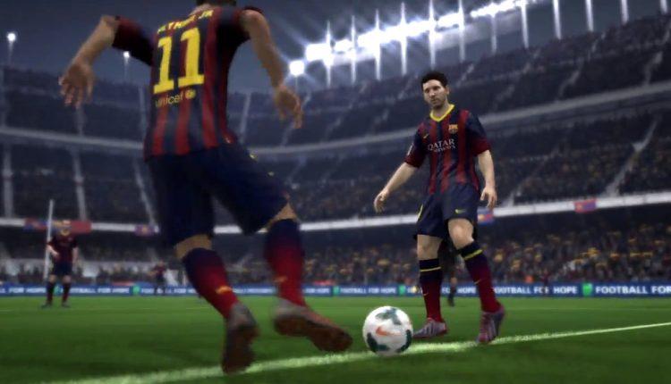 FIFA 14 demo Messi Neymar 10 de setiembre
