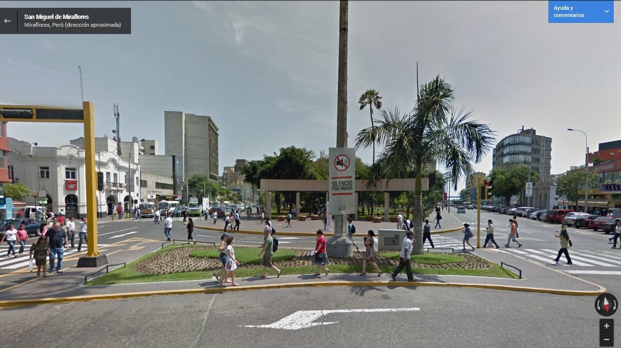 Google Street View lima peru (1)