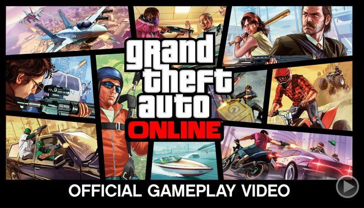 Grand Theft Auto 5 multiplayer
