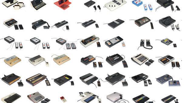 La historia evolución de las video consolas Xbox PlayStation Wii U Atari inforgrafía Brown box