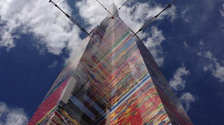 La torre de lego más alta del mundo