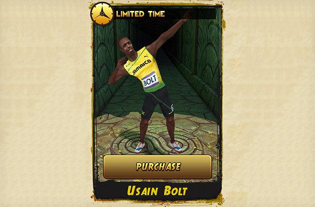 Usain Bolt Temple Run (1)