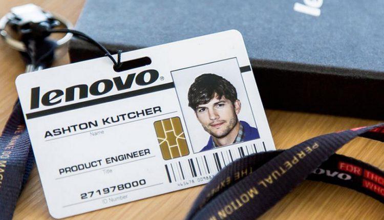 Ashton Kutcher Lenovo FotoCheck