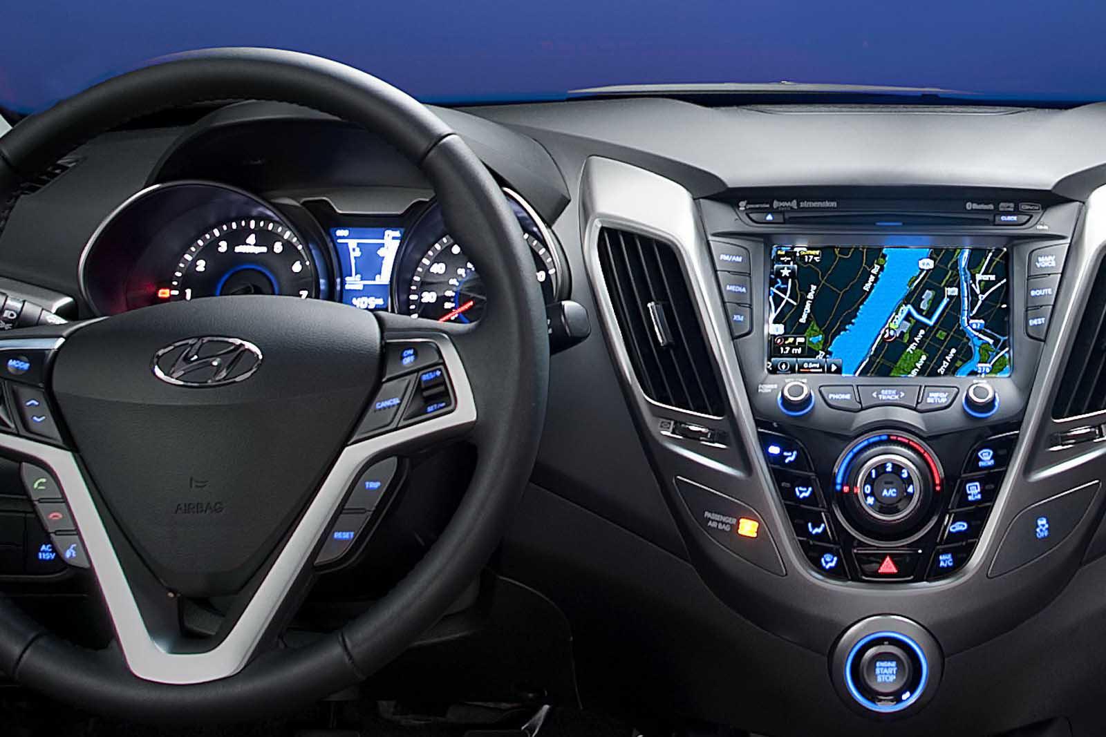 Hyundai Veloster Dashboard Aplicaciones Auto
