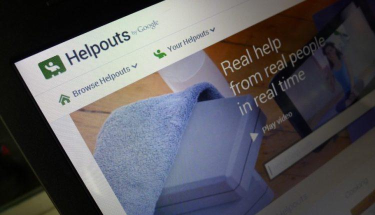 Google Helpouts Ayuda Hangouts