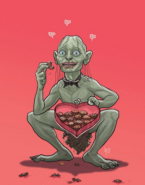 Tarjetas de San Valentín geek (7)