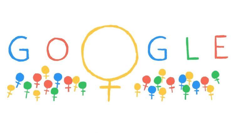 Google Doodle mujeres día internacional
