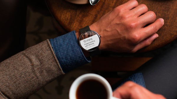 Moto-360 Smartwatch 5
