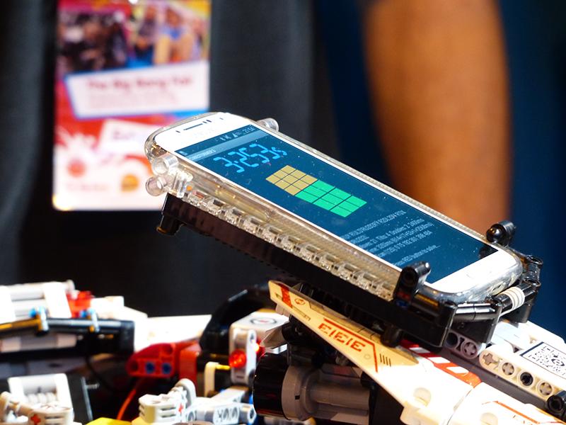 Rubik-Lego-Robot