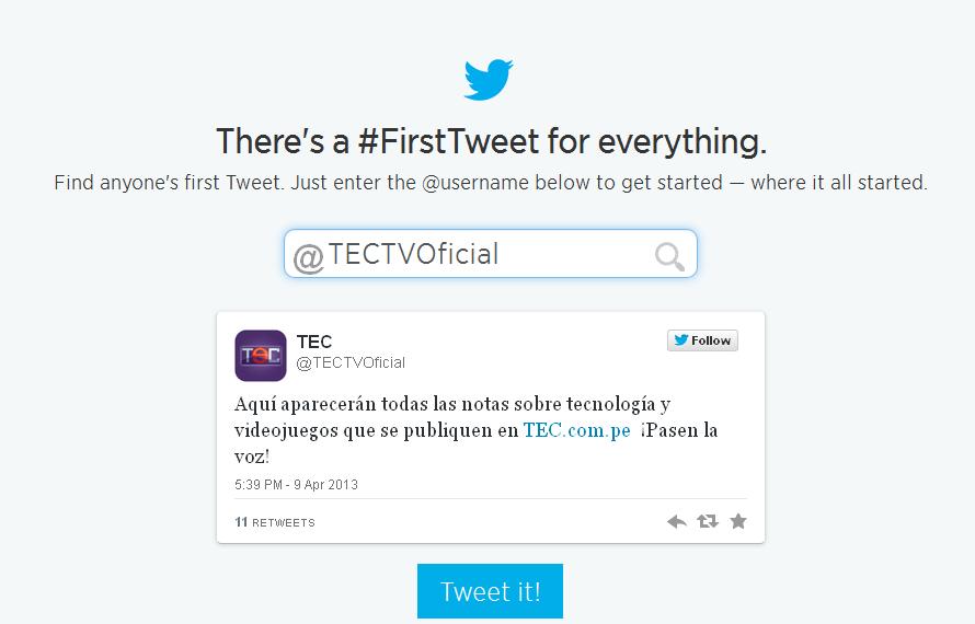 Twitter-First-Tweet