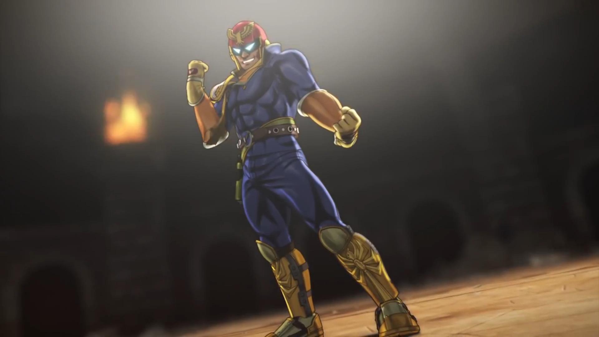 Captain falcon Super Smash (5)