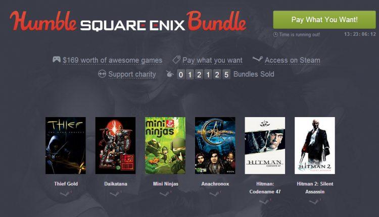 Humble Sqaure Enix Bundle (2)