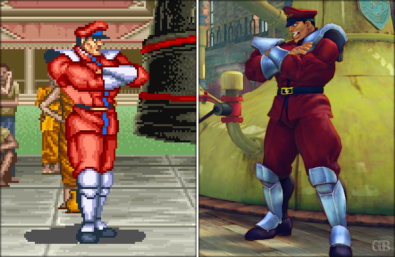 Retro Super Street fighter (4)