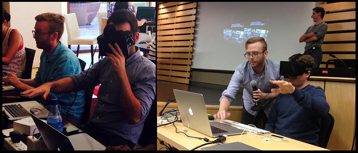 Oculus Rift Netflix