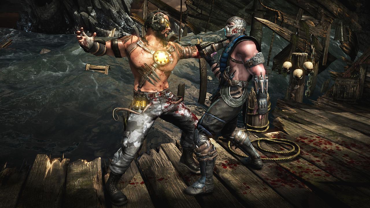 Mortal Kombat X kano 3
