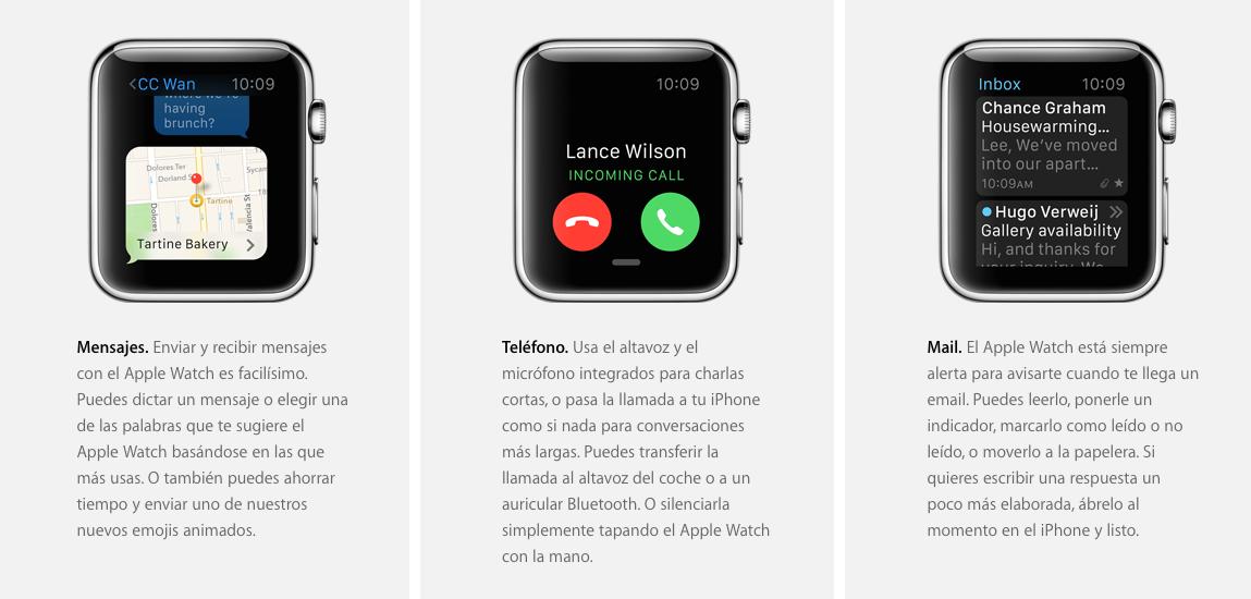 Apple Watch Funciones Básicas