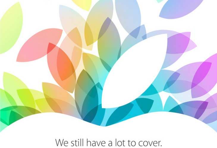 iPad Event Octubre 2014