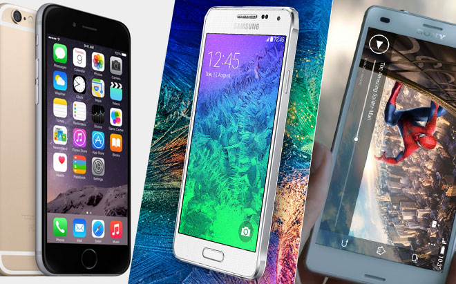 iPhone 6 Comparativo Android