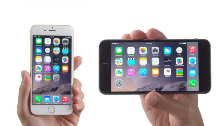 iPhone 6 apple huge