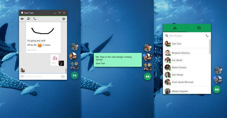 Hangouts-Chrome-App