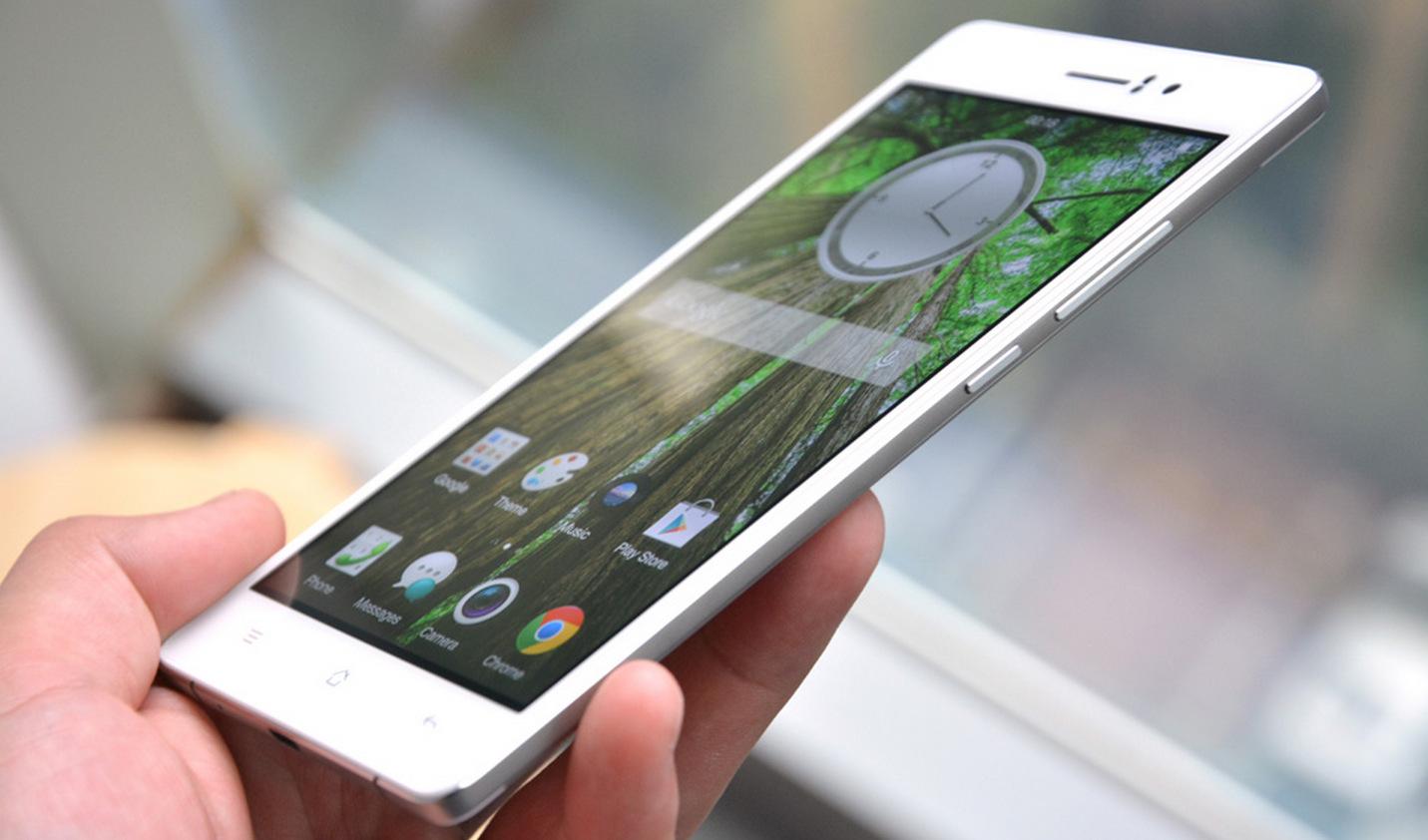 Oppo R5 thinnest smartphone (2)