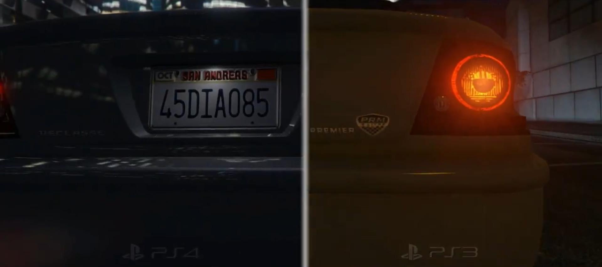 GTA 5 diferencia PS3 PS4 (2)