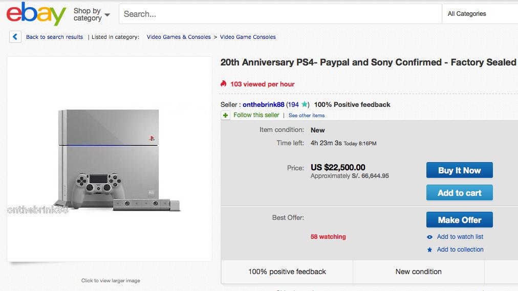 PS4-20th-Ebay