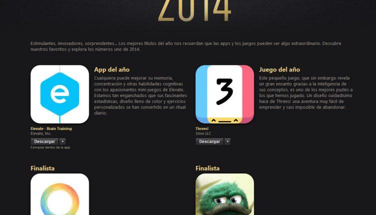 Top apps juegos Apple (2)