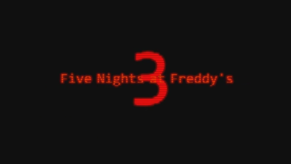 Five Night at Freddy's  3 (3)