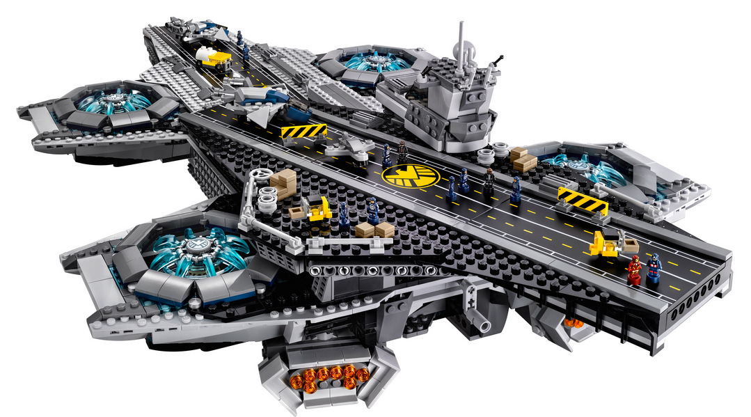 LEGO Marvel SHIELD UCS Helicarrier 76042-1 (1)