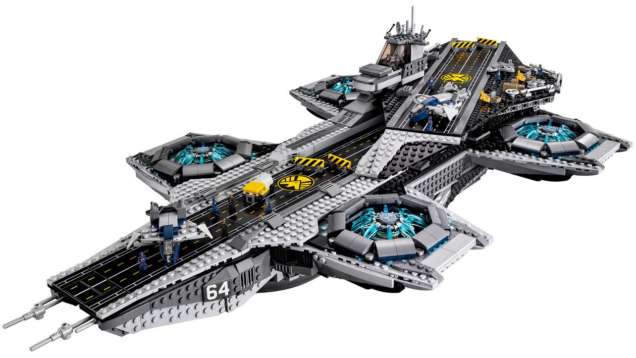 LEGO Marvel SHIELD UCS Helicarrier 76042-1 (8)