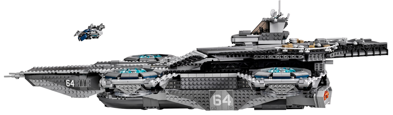 LEGO Marvel SHIELD UCS Helicarrier 76042-1 (9)