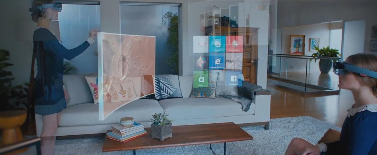 Microsoft holoLens Visor realidad aumentada Windows 10 (11)