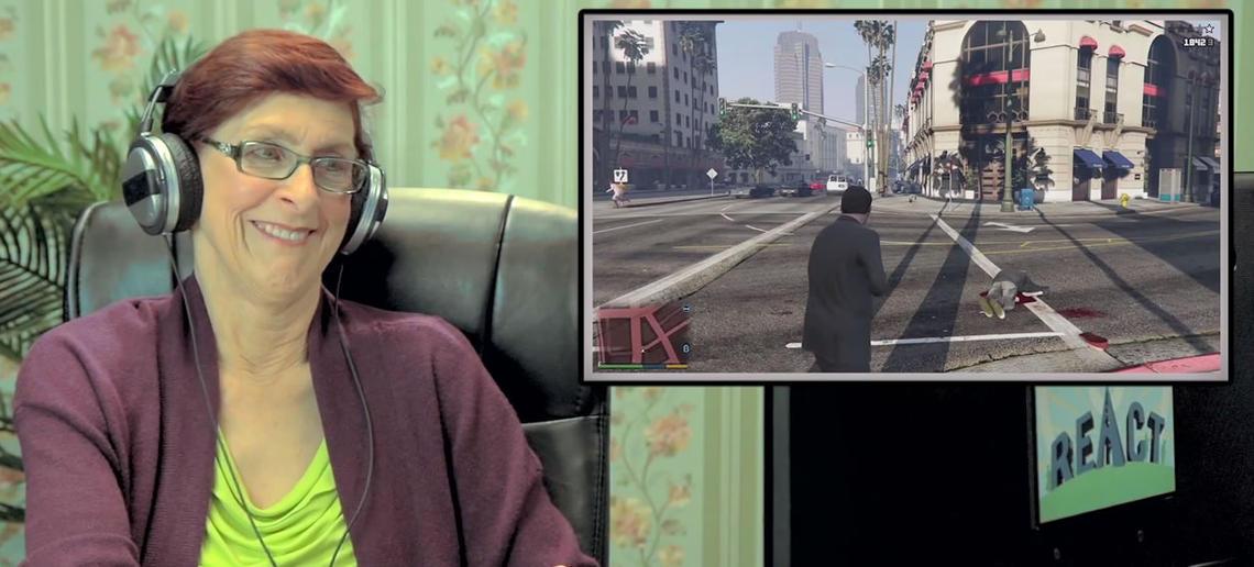 Old People React GTA V 004