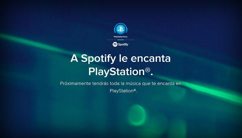 PlayStation Music Spotify 001