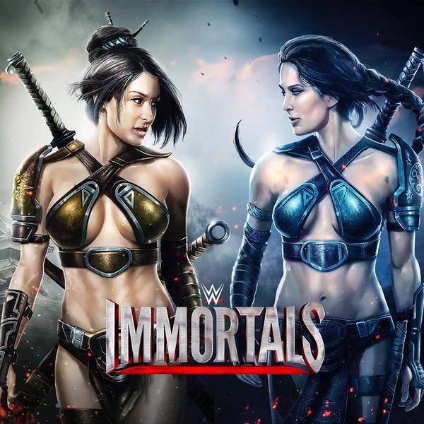WWE Inmortals (1)