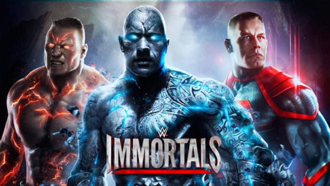 WWE Inmortals Cover