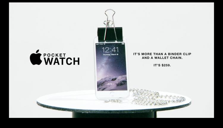 Apple Watch Pocket humor2