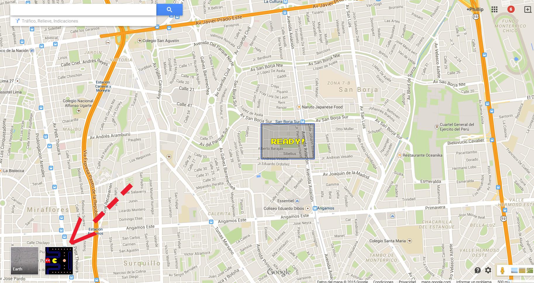Pacman Google Maps (1)