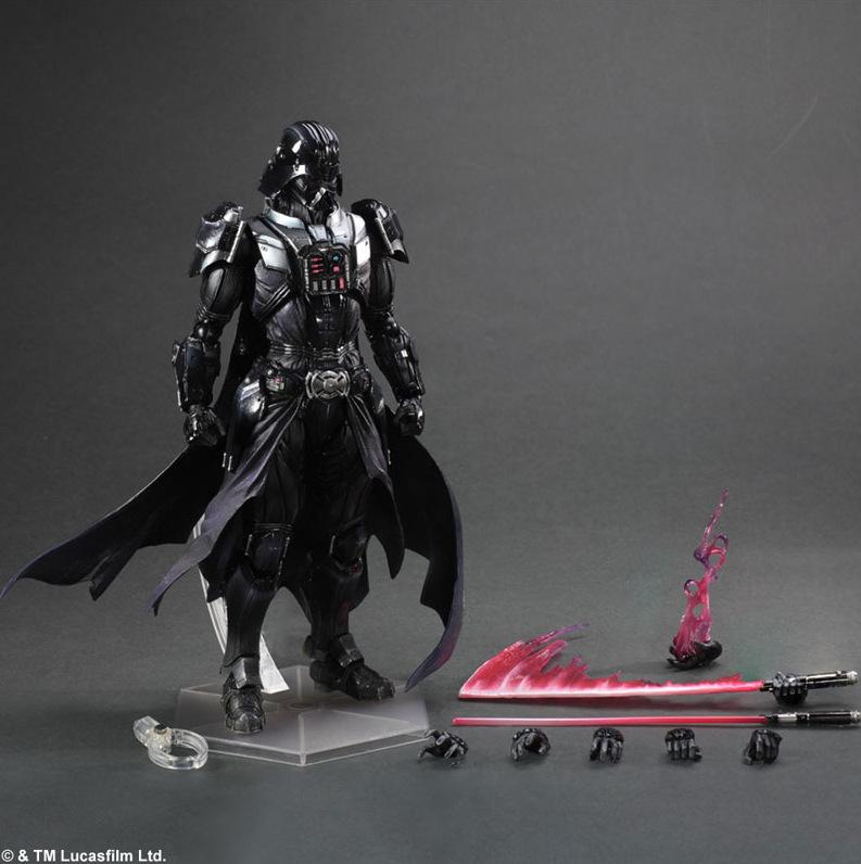 Star Wars Square Enix Boba Fett Darth Vader (1)