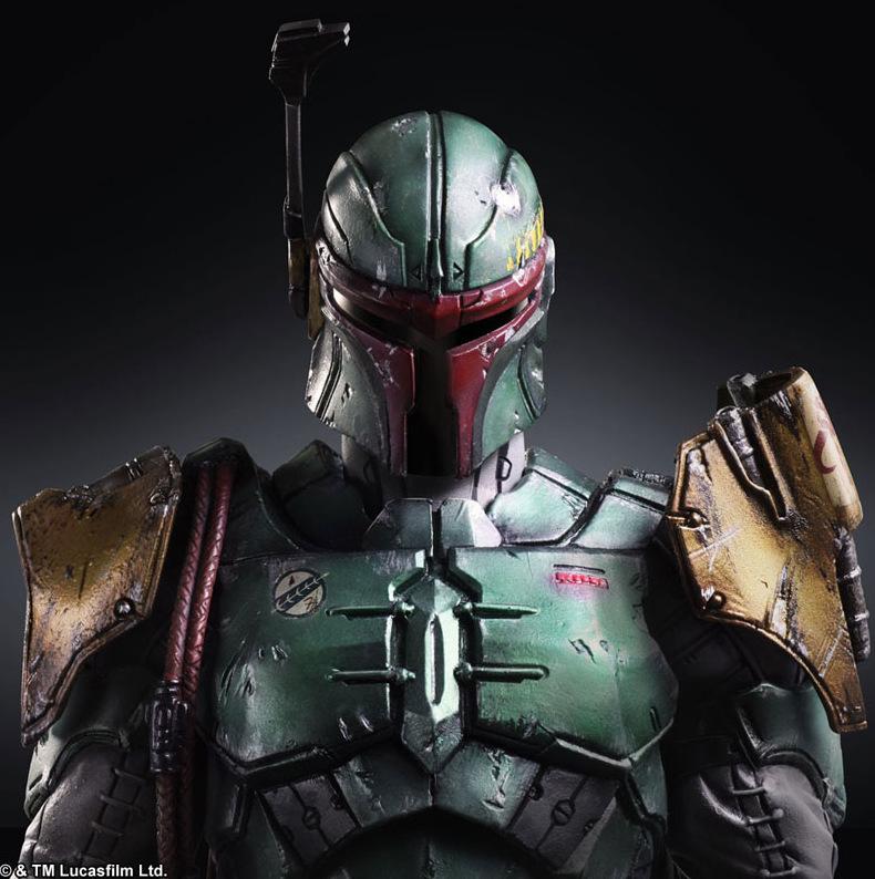 Star Wars Square Enix Boba Fett Darth Vader (10)