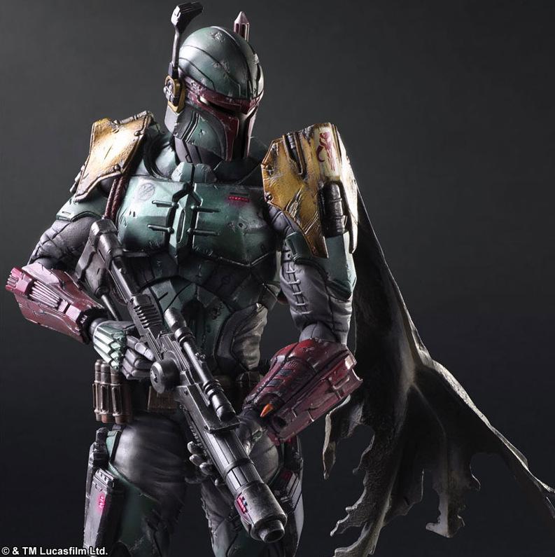 Star Wars Square Enix Boba Fett Darth Vader (13)