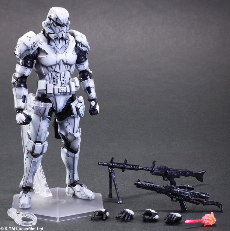 Star Wars Square Enix Boba Fett Darth Vader (5)