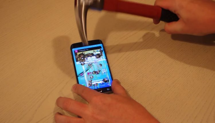 Galaxy S6 Edge test hammer (3)